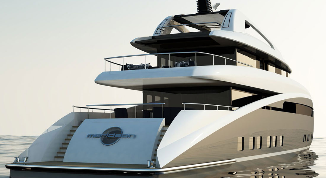 Merideon, by Focus Yacht Design for Sunrise Yachts