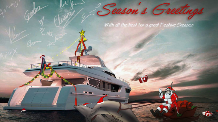 Christmas Greetings From Around the Superyacht Industry: Gallery ...