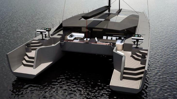 MC90 Cat: McConaghy's New Sailing Catamaran Series - Megayacht News