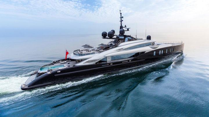 ISA Yachts Okto Monaco Grand Prix superyacht charters
