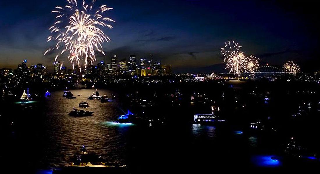 Ocean Alliance Sydney Harbour charter New Year's Eve