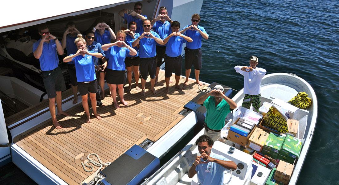 YachtAid Global megayacht
