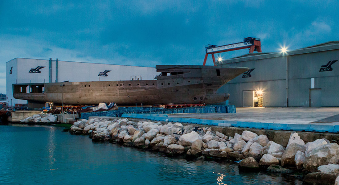 CRN 135 hull