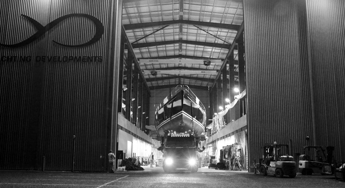 Cygnus Montanus launch Yachting Developments