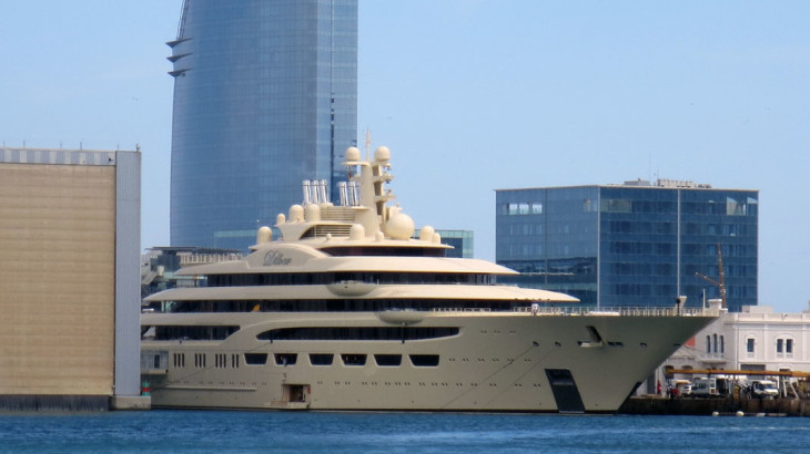 Dilbar Details And Video Divulged By L Rssen Megayacht News