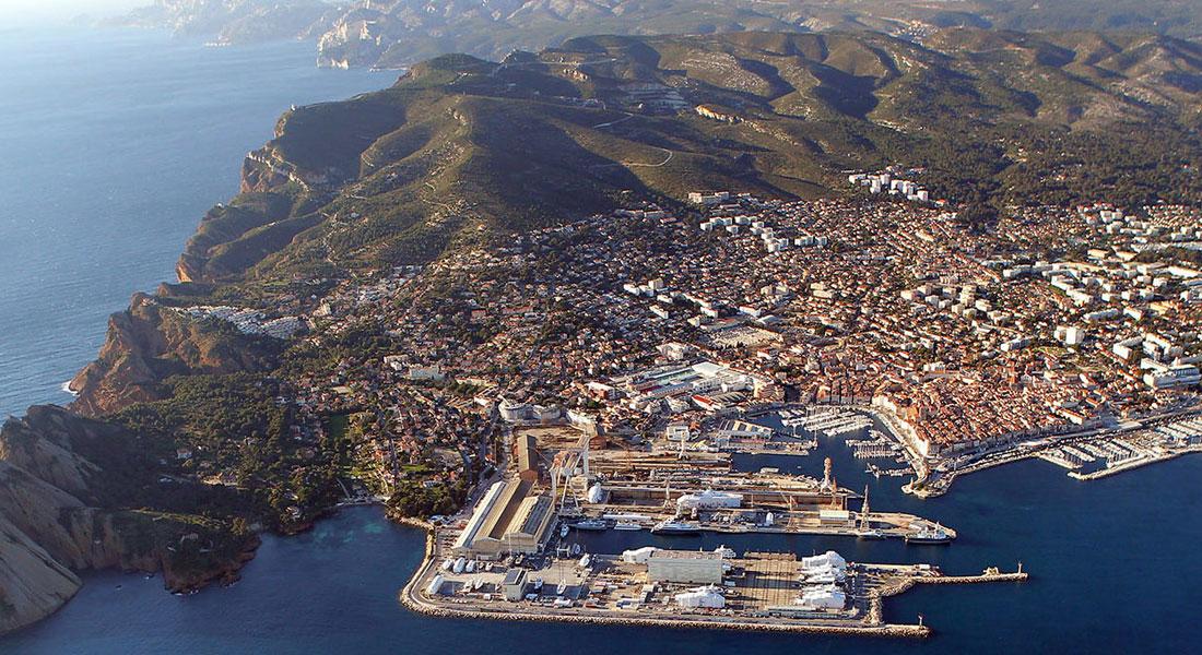 La Ciotat Shipyards megayacht deal between MB92 and Lurssen