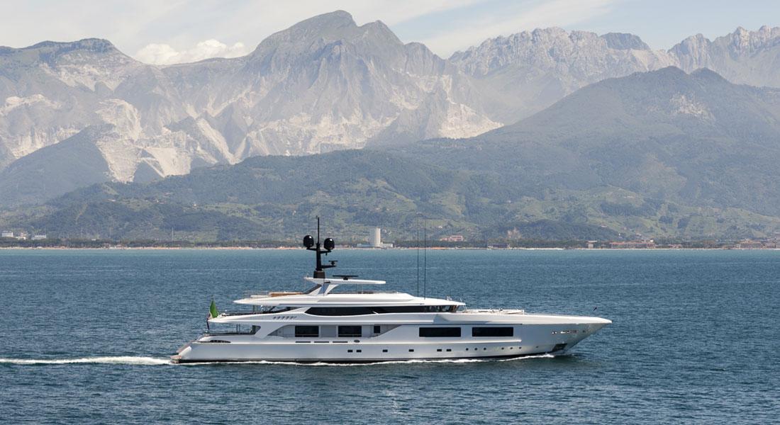 54M Baglietto megayacht Unicorn Cannes Yachting Festival