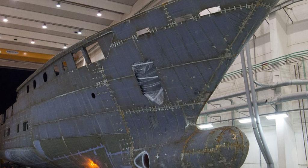 CRN 50M Superconero hull