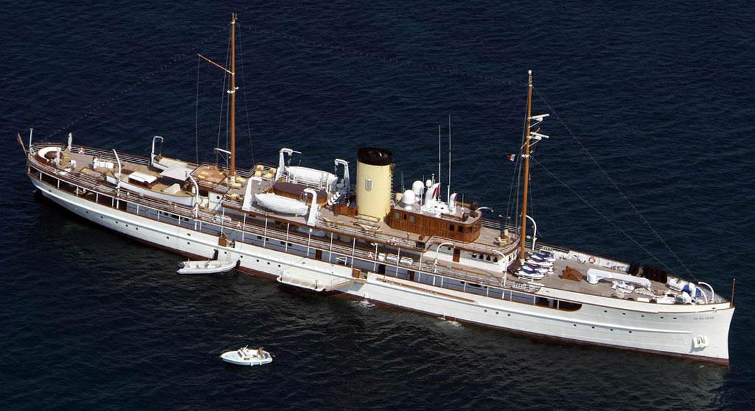 Delphine American-built megayacht