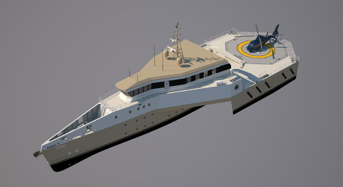 YSV60, Yacht Shadow Vessel from Marcelo Penna