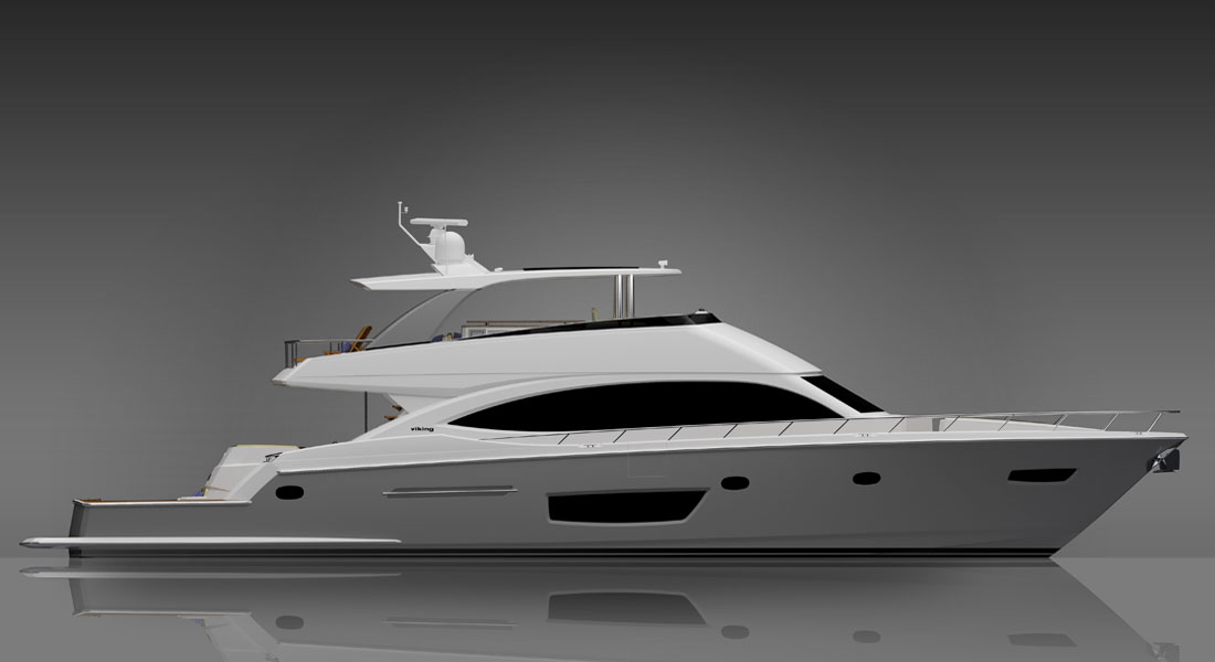 Coming in March: Viking 82 CMY