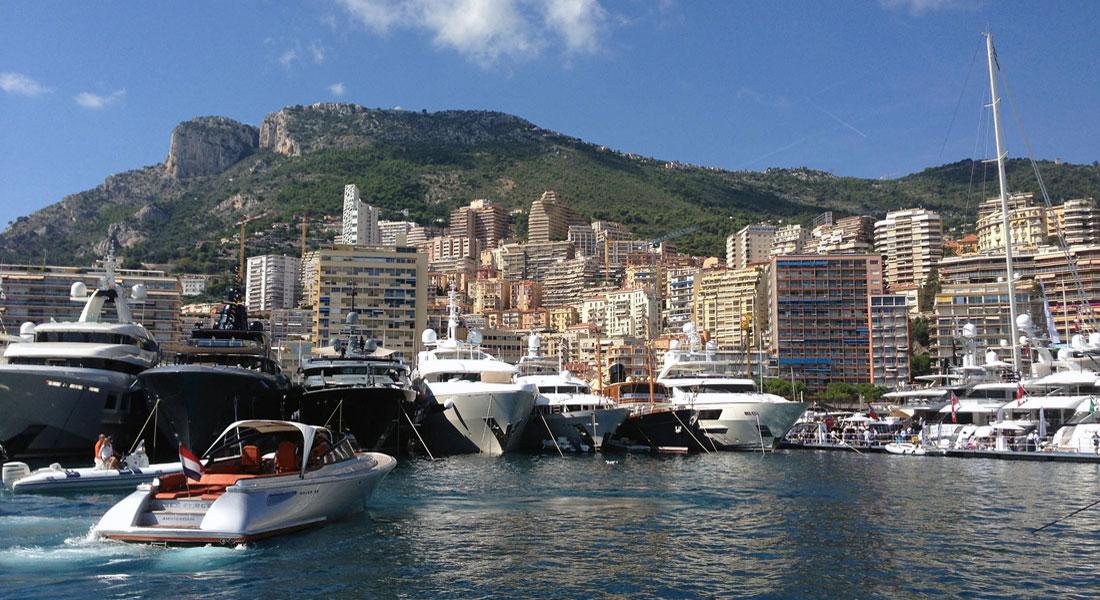 Port Hercule highest priced megayacht marinas in Europe Monaco Yacht Show new layout