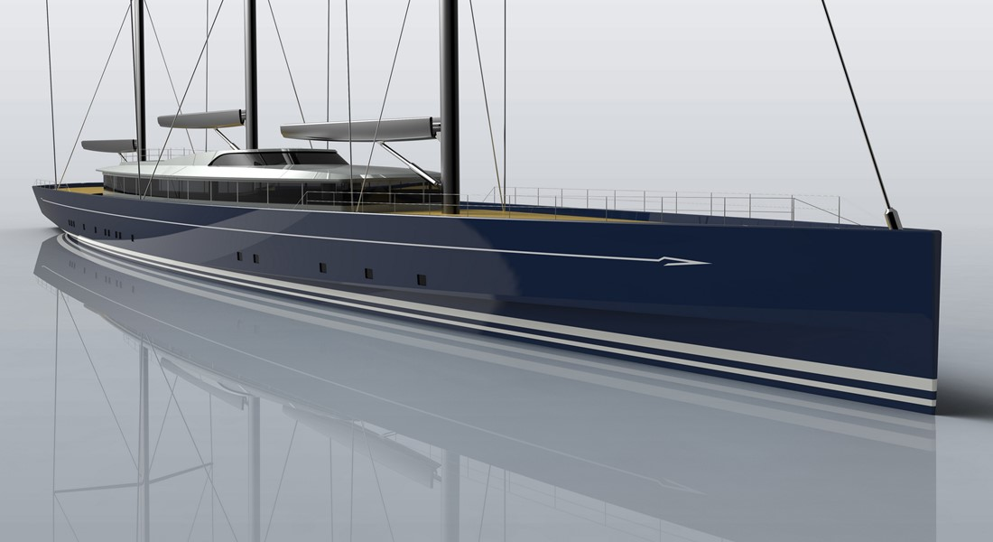 Royal Huisman Project 400 a.k.a. Sea Eagle II sailing superyacht; she's one of the most anticipated megayacht deliveries of 2020