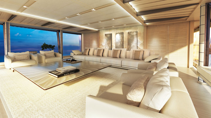 zen yacht concept eliminates wasted space megayacht news On interior design zen concept