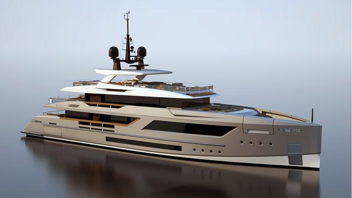 Baglietto V-Line 44m superyacht