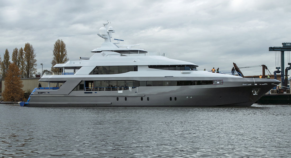 Crescent 145 Hits the Water in Canada