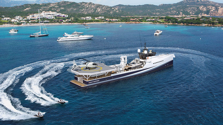 Damen Yacht Support Fast & Furious at FLIBS