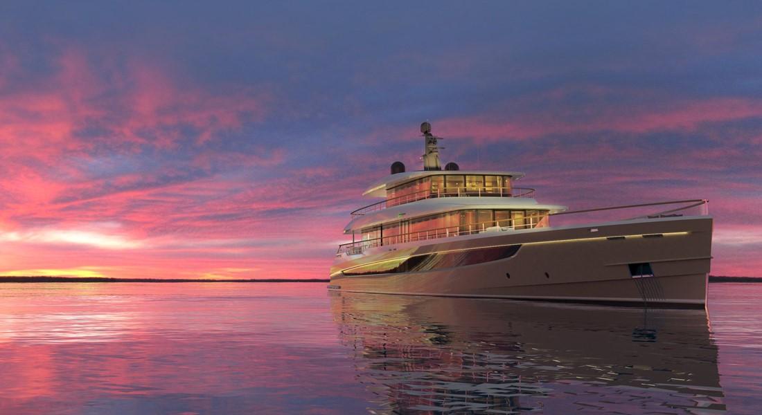 Prime Megayacht Platform Azure Naval Architects