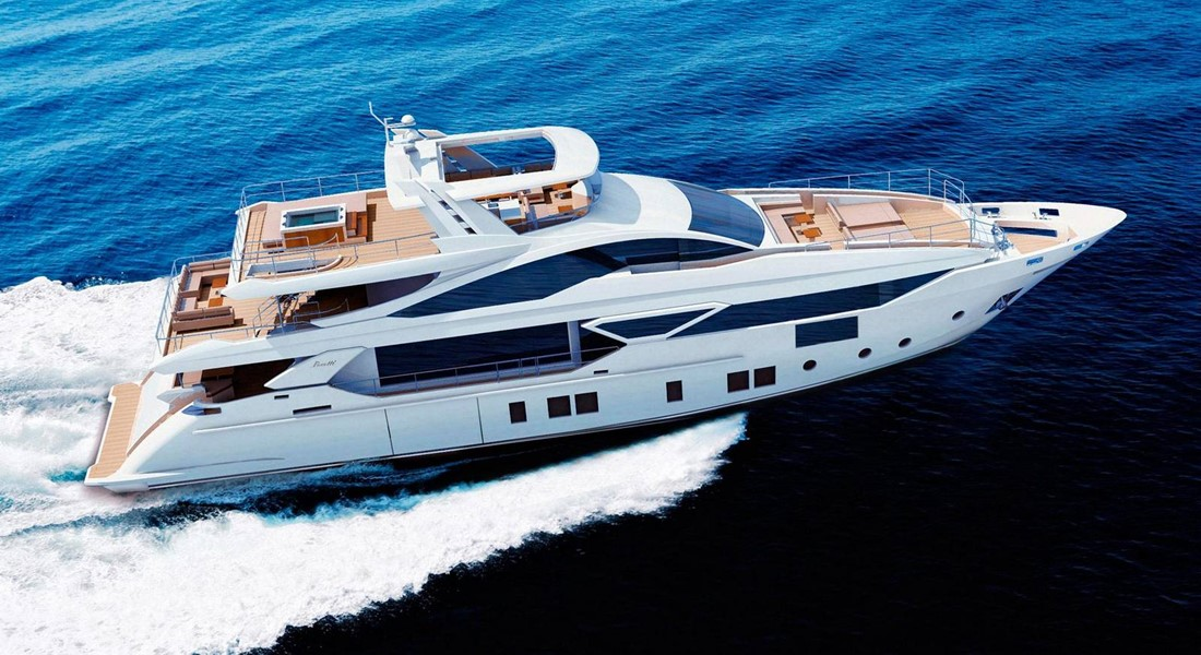 Iron Man Benetti International Superyacht Society Design Award winner