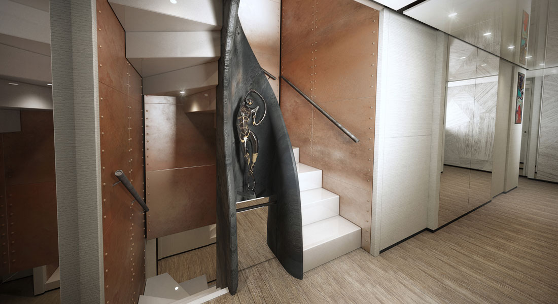 Wider 165 Cecilia staircase