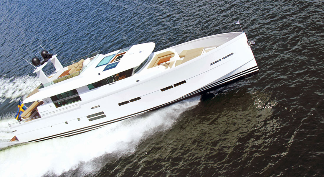 the Delta 88 Carbon is imported into the Americas by Delta Carbon Yachts, which in 2019 became controlled by YachtCreators