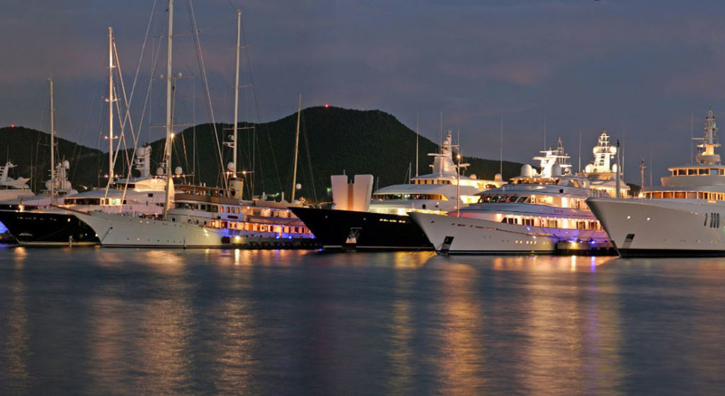 Yacht Club at Isle de Sol megayacht marina IGY Marinas