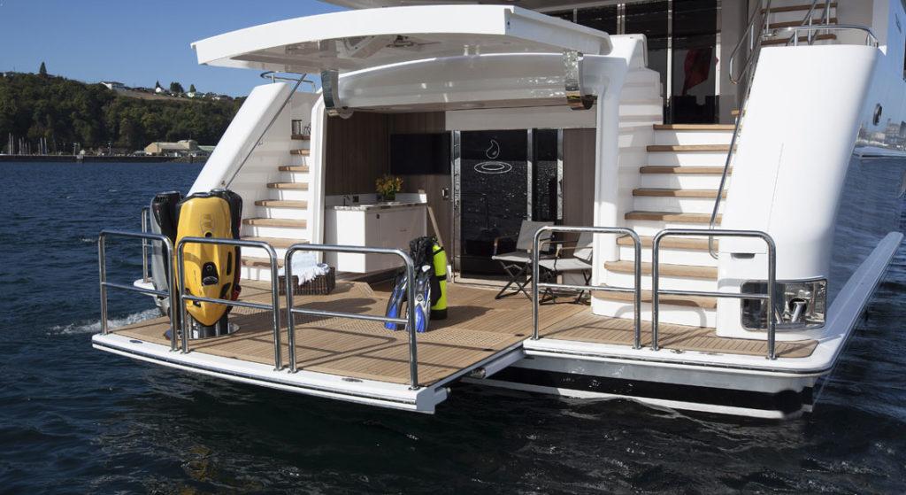Megayacht News Onboard: Black Gold, by Westport - Megayacht News
