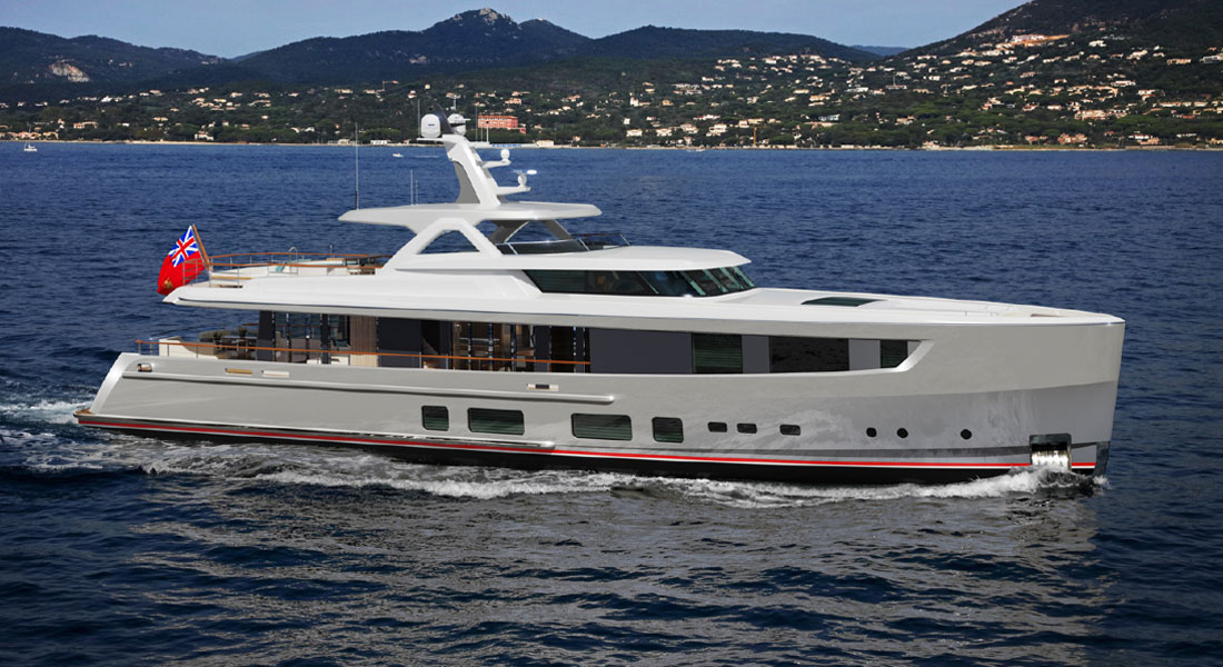 Mulder ThirtySix Megayacht: Yours in 1 Year
