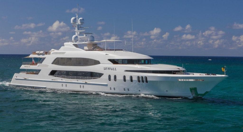 Trinity Skyfall Yachts Miami Beach
