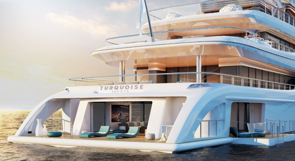 Turquoise 77m Sells Set For 2018 Delivery Megayacht News