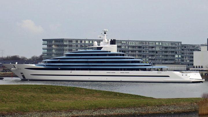 Oceanco Y714 project Jubilee