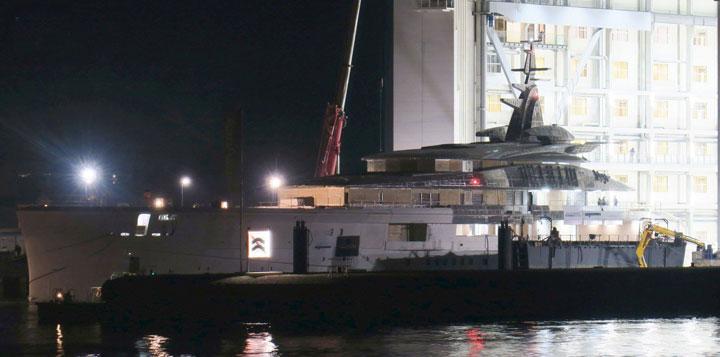 Oceanco Y718 Project Bravo