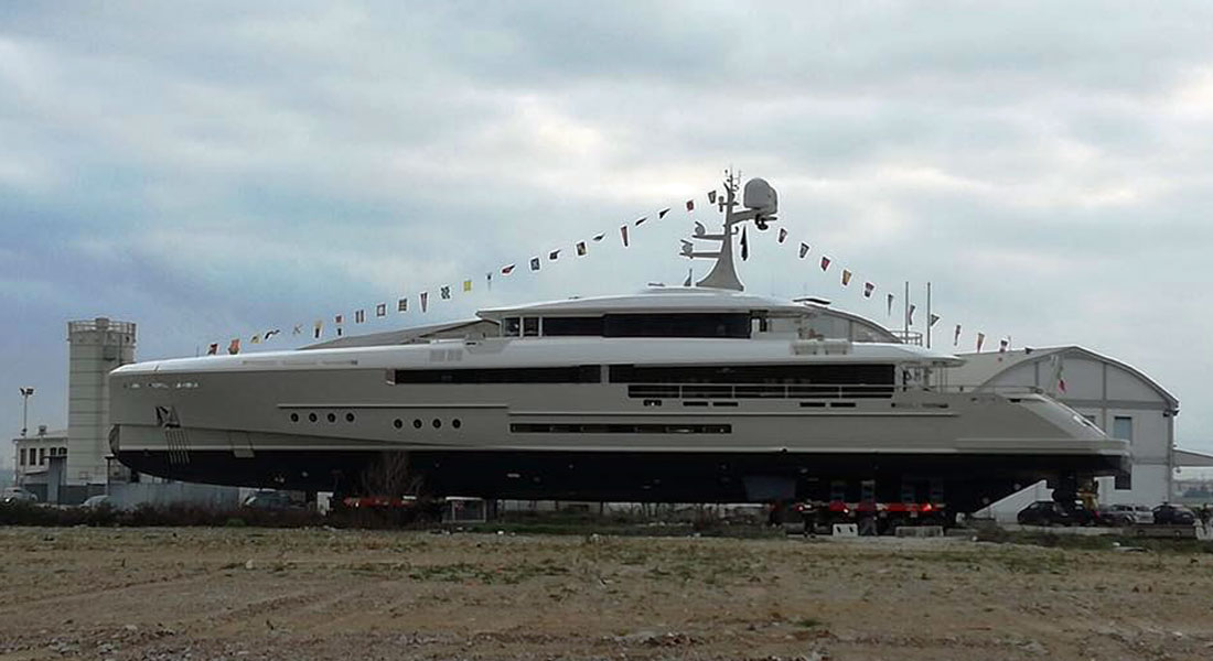 Endeavour Unveiled at Rossinavi