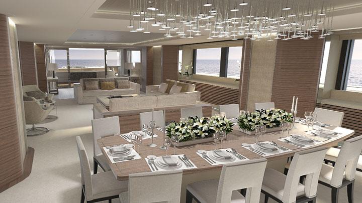 vsy 64 interior sneak peek megayacht news. Black Bedroom Furniture Sets. Home Design Ideas