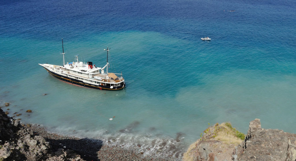 Salvage Operations For Elsa Underway In Saba Megayacht News