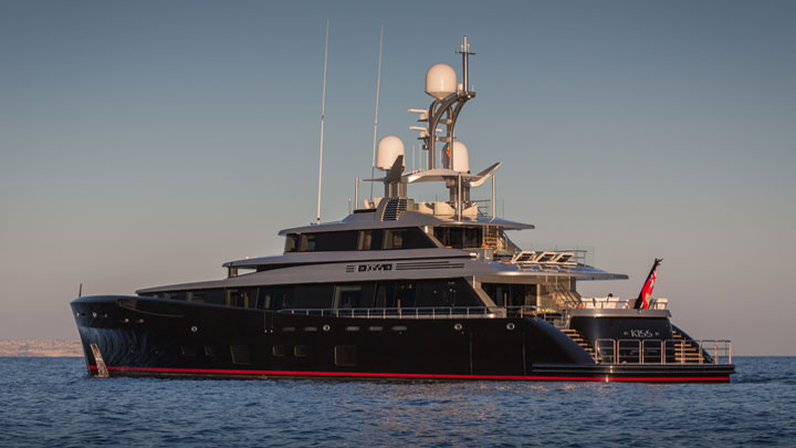 Feadship Kiss Dubois Naval Architects love-themed superyachts