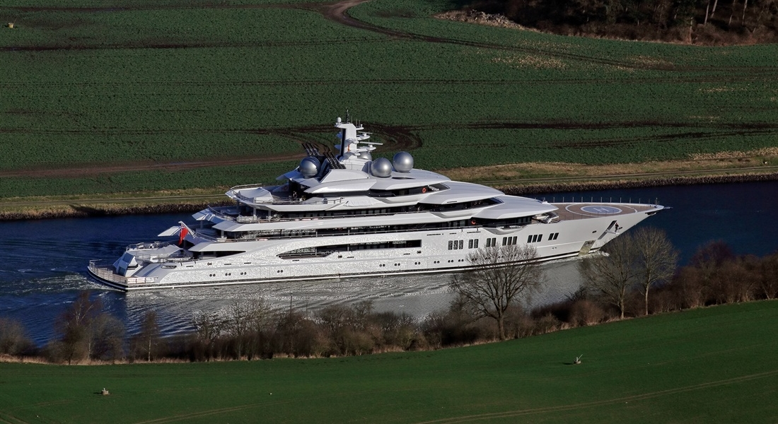 Amadea, ex-Project Mistral, Handed Over by Lürssen