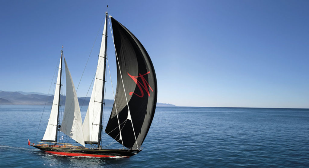 Marie America's Cup charter Burgess