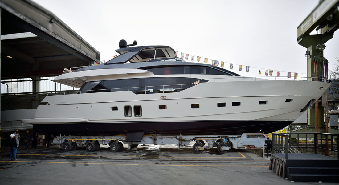 Stae, Sanlorenzo SL86, Splashes for American Family
