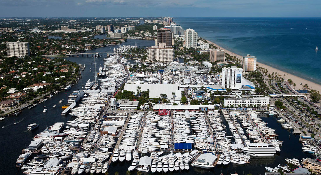 FLIBS 2014 Fort Lauderdale boat show TV special megayachts