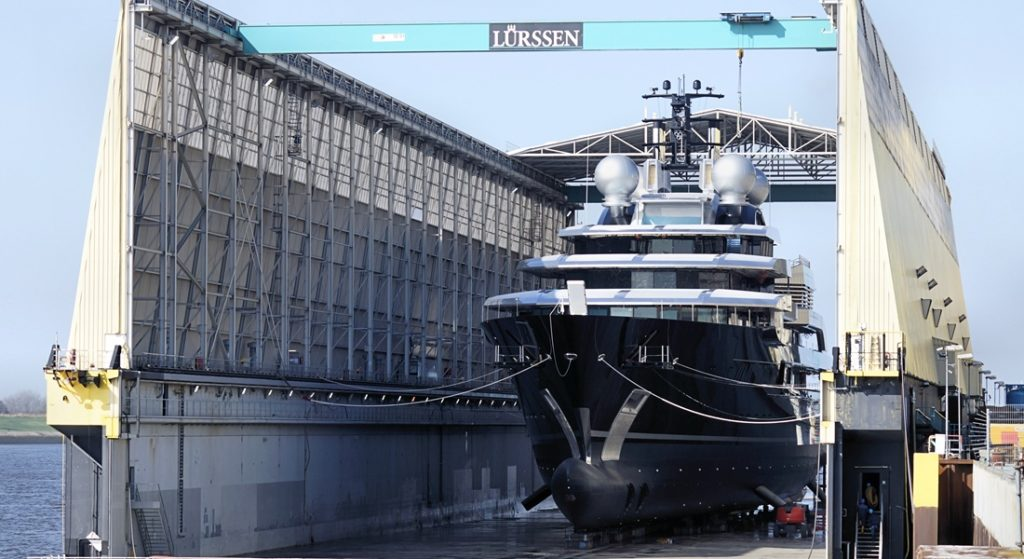 superyacht Project Thunder lurssen