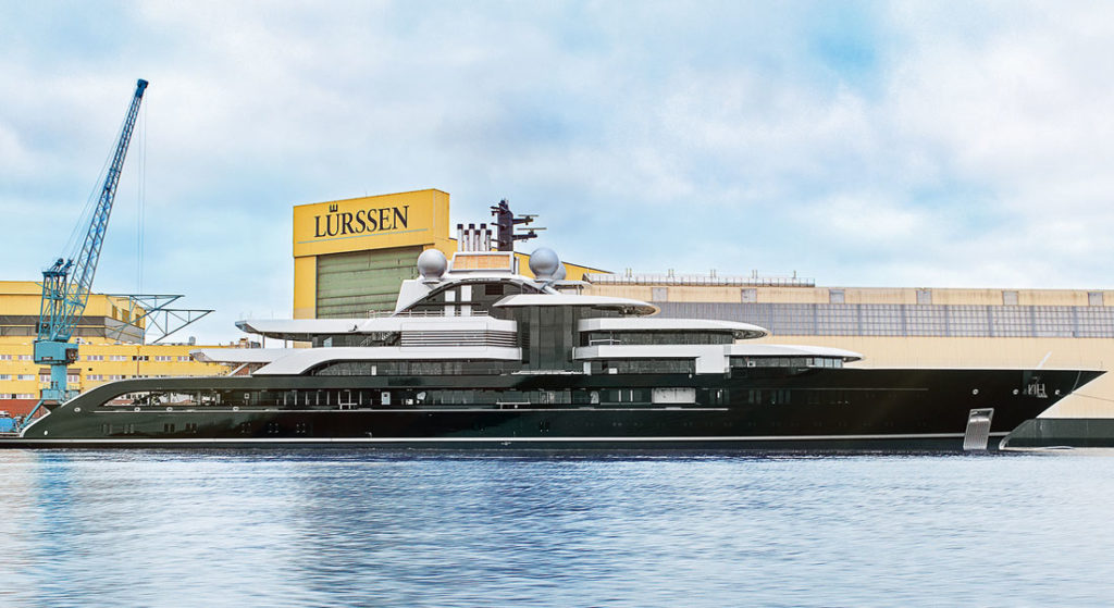 superyacht project Thunder Lurssen much-anticipated megayachts of 2018