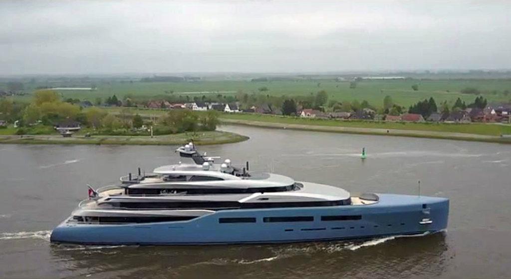 Aviva departing Abeking & Rasmussen May 2017