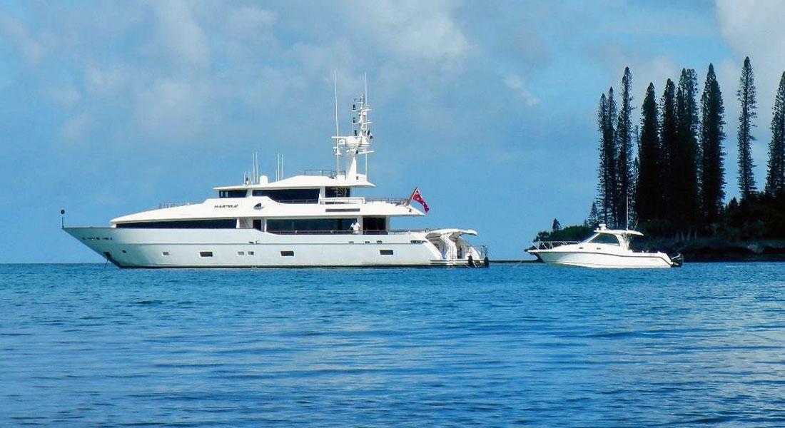 Masteka 2 New Caledonia itinerary