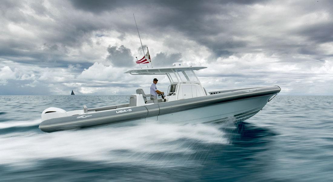 Ocean 1 Zephyr tender to megayachts