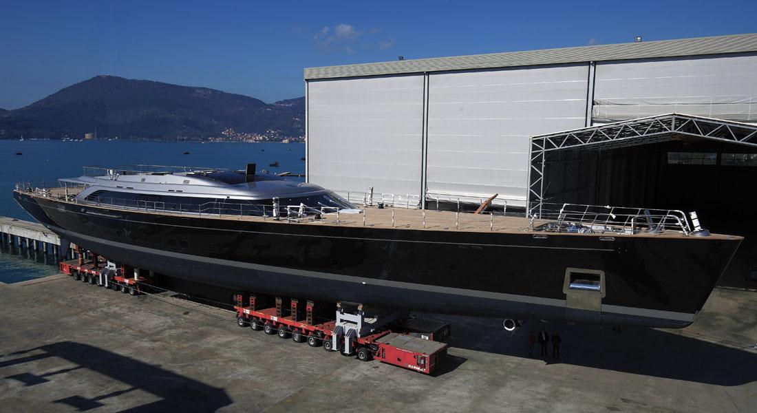 Perini Navi Group builds sailing superyachts; an Italian court has declared Perini Navi bankrupt in January 2021