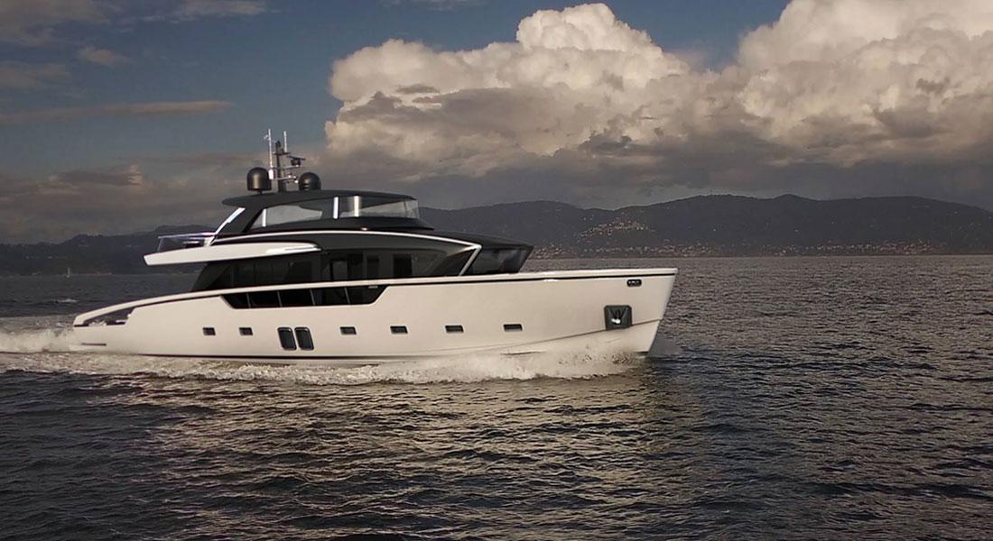 "Sanlorenzo SX88, New ""Crossover"" Yacht Series"