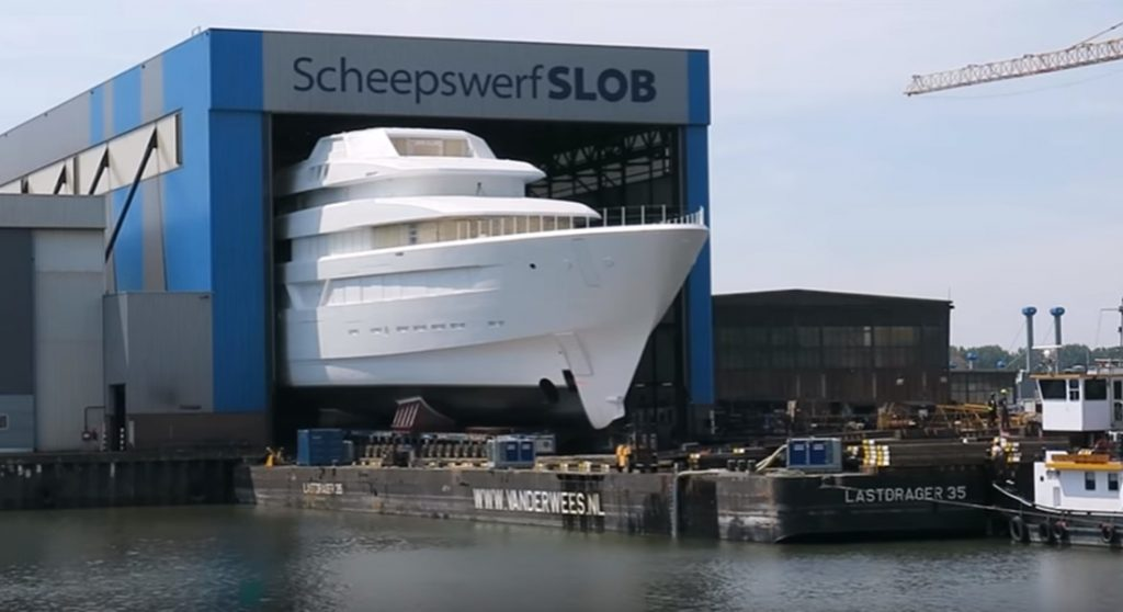 Feadship YN 700 megayacht technical launch