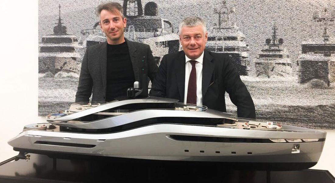 Aurea megayacht concept Rossinavi Pininfarina superyacht design