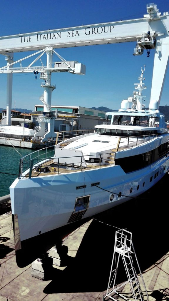 The Italian Sea Group superyacht Sage